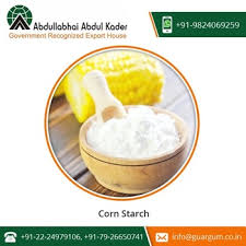 delicious fine taste corn starch powder with high nutritional value in bulk