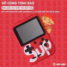Máy chơi game sup 4 nút cầm tay giá rẻ G4 Plus 400 in 1