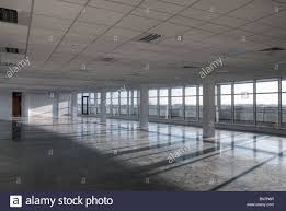 office plan interiors. Empty Office Open Plan Interiors Building