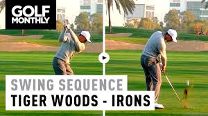 2017 Tiger Woods Slow Motion Iron Swing - YouTube