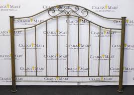 Handcrafted Wrought Iron Bed Frame