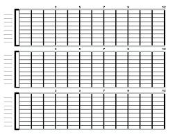 Chart Paper Template Wsopfreechips Co