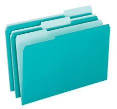 Image Plastic More Views Interior File Folders Tops Products Pendaflex Interior File Folders Letter Size Aqua