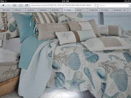 Beach Inspired Bedding Gorgeous Seashell Bedding By Coastal Collection Bought It At