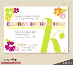 Hawaiian Theme Party Invitations Printable Free Invitation Templates