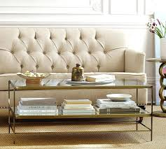 tanner coffee table coffee table tanner round coffee table polished nickel finish