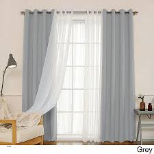 Comfortable Length Curtains Sliding Glass Door Curtains French ...