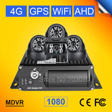 CMSV6 Realtime <b>SD Card</b> Auto Car Bus AHD Mobile DVR <b>4G GPS</b> ...