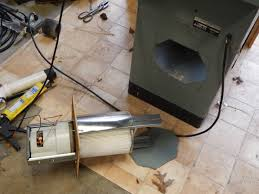 installing the vacuum in the tablesaw