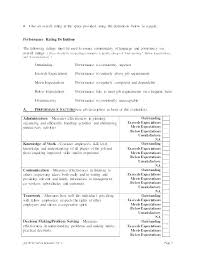 Examples Technical Skills Images Of Skills Assessment Template Com It Skills