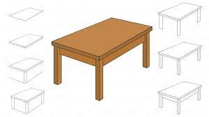Holztisch Zeichnen Kinder Die Auf Weißen Blatt Papier Mit