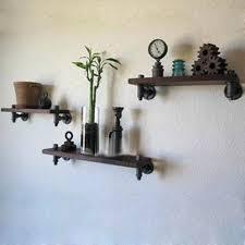 adorable wrought iron wall shelves retro wood wrought iron wall shelf shelving rack set top boxes