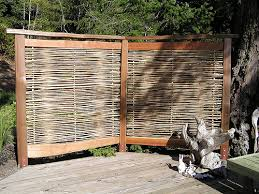 ... Outdoor Bamboo Privacy Screen 4 17 Best Images About Privacy Screens  And Fences On Pinterest ...
