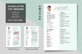 Resume Portfolio Template Best of Graphic Designer Resume Cover Letter Portfolio Template For Resume