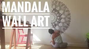 mandala wall art on mandala wall art with mandala wall art youtube