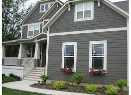 grey paint colors for exterior. exterior house color schemes gray | question : when is your crib bedding line going to grey paint colors for