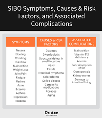 Sibo Diet Chart Sibo Symptoms Do You Know If You Have Sibo Dr Axe