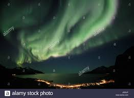 Northern Lights Norway 2015 Aurora Borealis Northern Lights Active Coloured Curtains