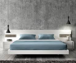 white modern platform bed. White Modern Platform Bed R