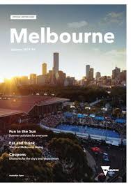 Official Guide Melbourne By Visitors Destination Summer 2018 FqPaEfdPwn
