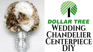 wedding centerpiece chandelier dollar tree diy