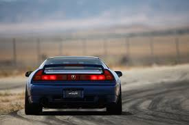 acura nsx 1991. attacking the track in a supercharged 1991 acura nsx nsx