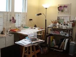 Home Art Studio Small Artist Studios The Right Side Of My Studio Space Showing
