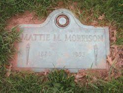 Mattie Myrtle Snelson Morrison (1880-1953) - Find A Grave Memorial