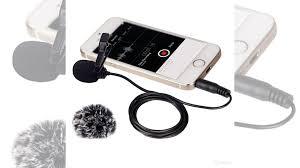 Петличный <b>микрофон Comica CVM-V01SP</b> для смартфона ...