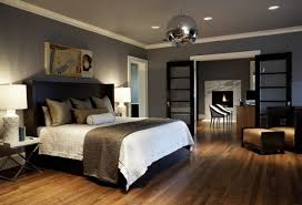 Paint Colors For Bedroom Delectable Decor Bedroom Paint Color Idea Grey  With Black Furniture