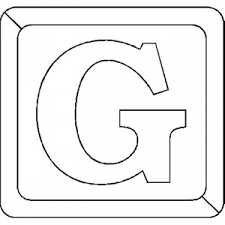 Letter G Coloring Pages Preschool And Kindergarten