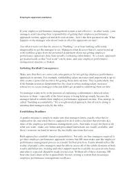 Examples Of Performance Review How Annual Appraisal Template Performance Review Self