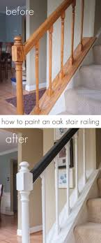 Best Staircase Makeovers Images On Pinterest - Painted basement stairs