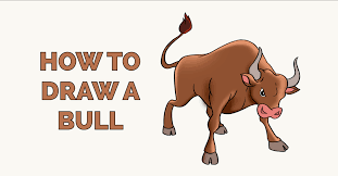 The best way to approach the drawing is identify simple shapes within the body. How To Draw A Bull Really Easy Drawing Tutorial