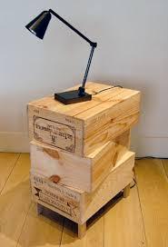 wine crate furniture. Rabih Hage Wine Crate End Table Furniture E