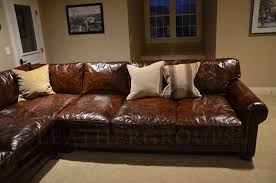 popular of lancaster leather sofa with best lancaster leather sofa restoration hardware leather sofa