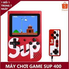 máy chơi game - máy điện tử SUP 400 trò chơi pin dung lượng cao chơi được 6  tiếng sau mỗi lần sạc giảm chỉ còn 118,000 đ