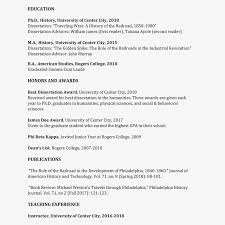 Curriculum Vitae Samples Formatting Tips For Your Curriculum Vitae Cv