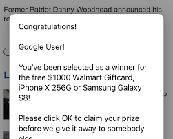 Pop Congratulations ' Infecting Up And Scam Androids You Won Iphones FxRwxqtP