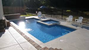Rectangle pool Fiberglass Pools Midsouth Pools Spas Trilogy Rectangle Pools Mid South Spas
