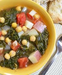 kale pea soup recipe