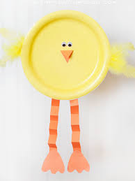 paper plate easter