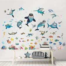 picture of sea adventure wall stickers