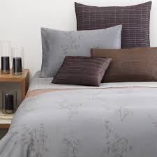 calvin klein home acacia bedding supima cotton   supima