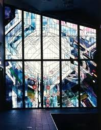 stained glass contemporary stained glass windows interiors surrey modern art new abstract studios inc designs