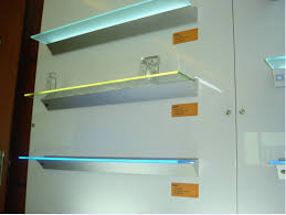 glass shelf lighting. Shelf Light Glass Lighting