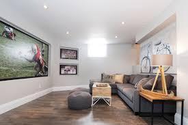 wood basement flooring