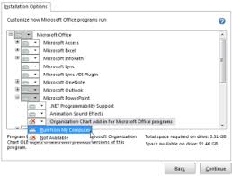 Microsoft Organization Chart Install The Microsoft Office Organization Chart Add In Office Support
