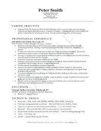 sample resume for software engineer experienced ...