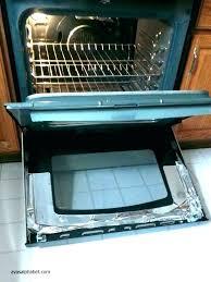 oven door glass shattered during self clean homemade cleaner broken